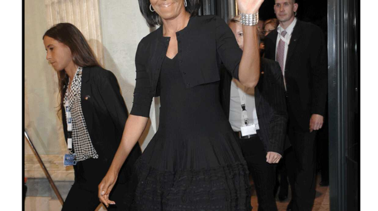 PHOTOS Michelle Obama plus classe que Carla à Baden Baden