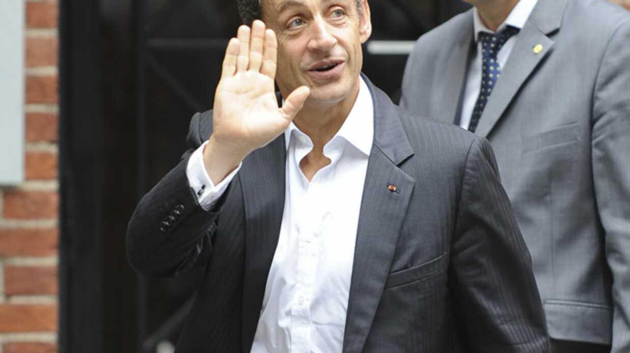 PHOTOS Carla et Nicolas Sarkozy: pause déjeuner à New York