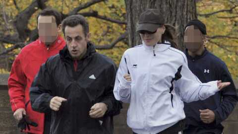 Carla Bruni-Sarkozy et Nicolas Sarkozy : footing à New York