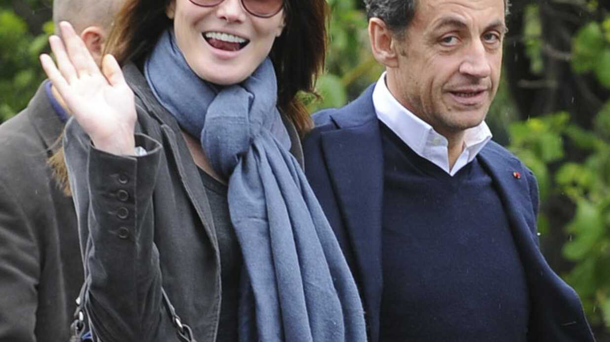 PHOTOS Carla Bruni et Nicolas Sarkozy amoureux à New York