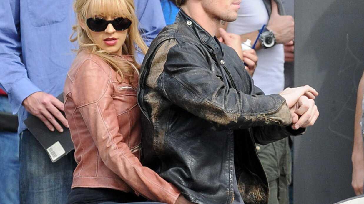 PHOTOS Christina Aguilera en plein tournage de Burlesque