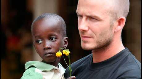 David Beckham En mission en Afrique