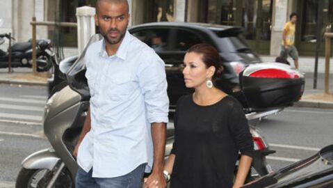 PHOTOS Eva Longoria et Tony Parker font les soldes à Paris