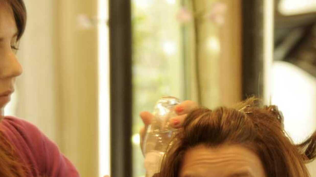 PHOTOS Eva Longoria chez le coiffeur