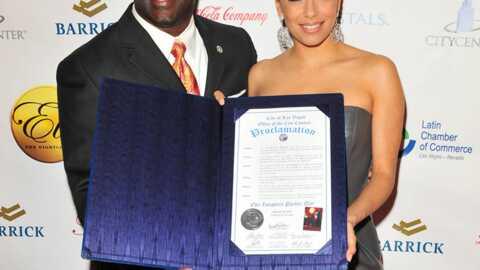 PHOTOS Eva Longoria: une femme d'affaires récompensée