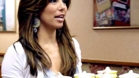 PHOTOS Eva Longoria, la plus sexy des serveuses de fast-food
