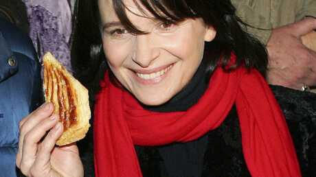 PHOTOS Juliette Binoche: la galette avec les sans-papiers