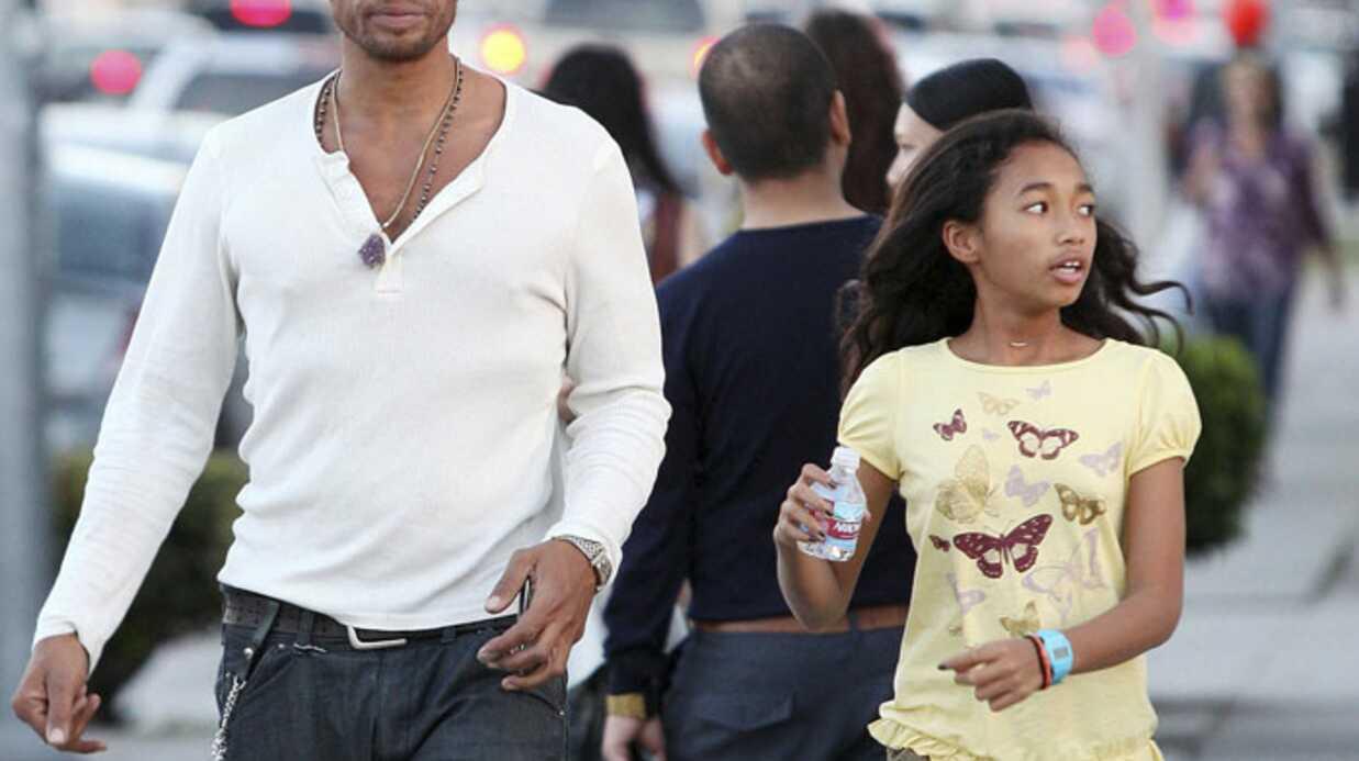 PHOTOS Gary Dourdan alias Warrick Brown des Experts et sa fille Nyla