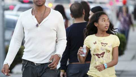 PHOTOS Gary Dourdan alias Warrick Brown des Experts et sa fille Nyla