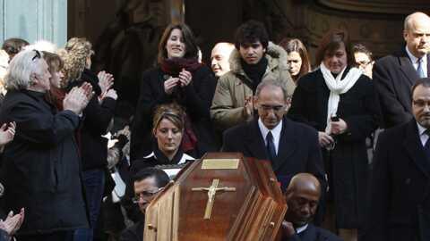 Emotion aux obsèques d'Annie Girardot