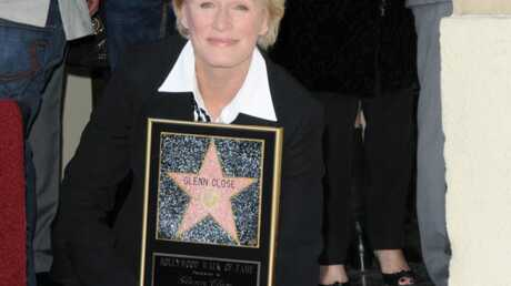 PHOTOS Glenn Close a son étoile sur le Walk of Fame