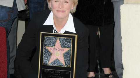 PHOTOS Glenn Close a son étoile sur le Walk of Fame