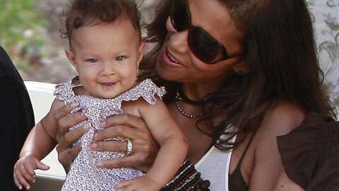 Halle Berry et sa fille au zoo
