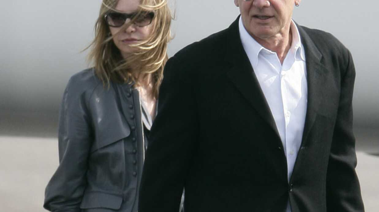 PHOTOS Harrison Ford et Calista Flockhart à Deauville