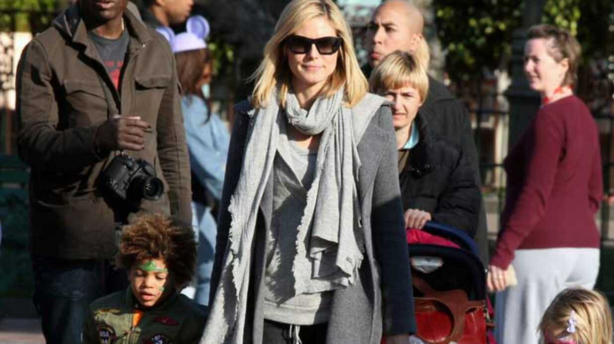 PHOTOS Seal et Heidi Klum en famille à Disney­land