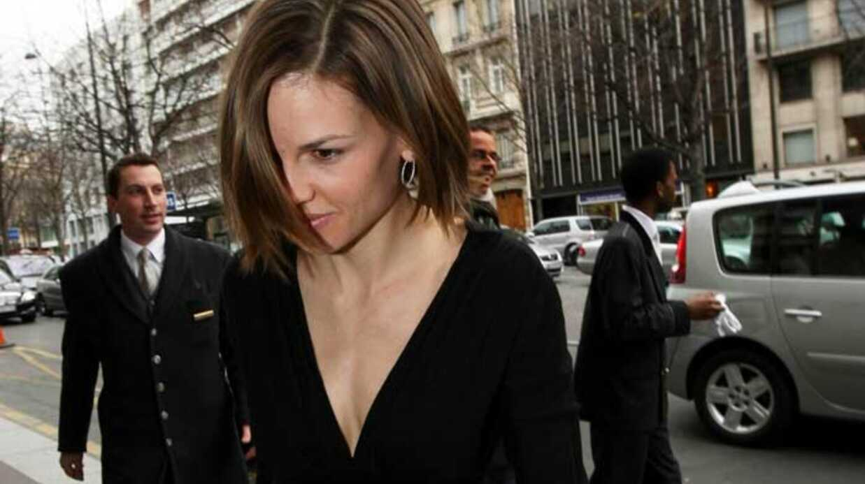 Hilary Swank Hilare à Paris