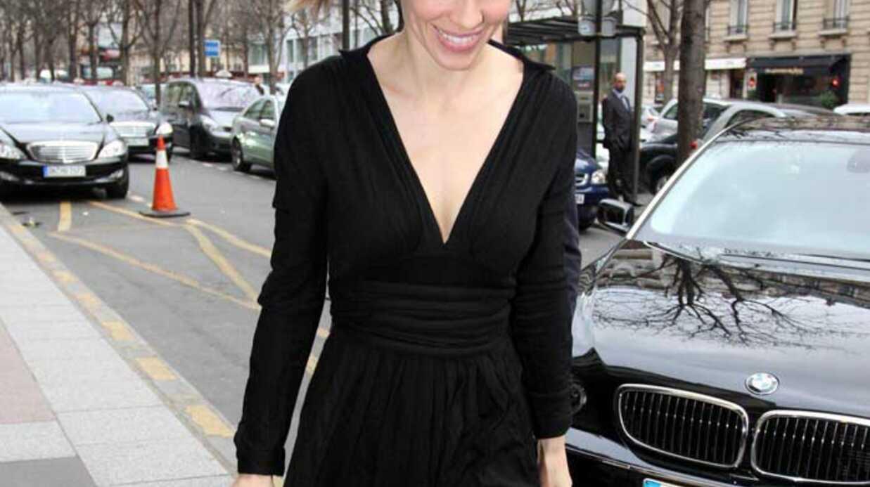 Hilary Swank Hilare à Paris