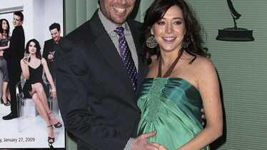 Lily très enceinte