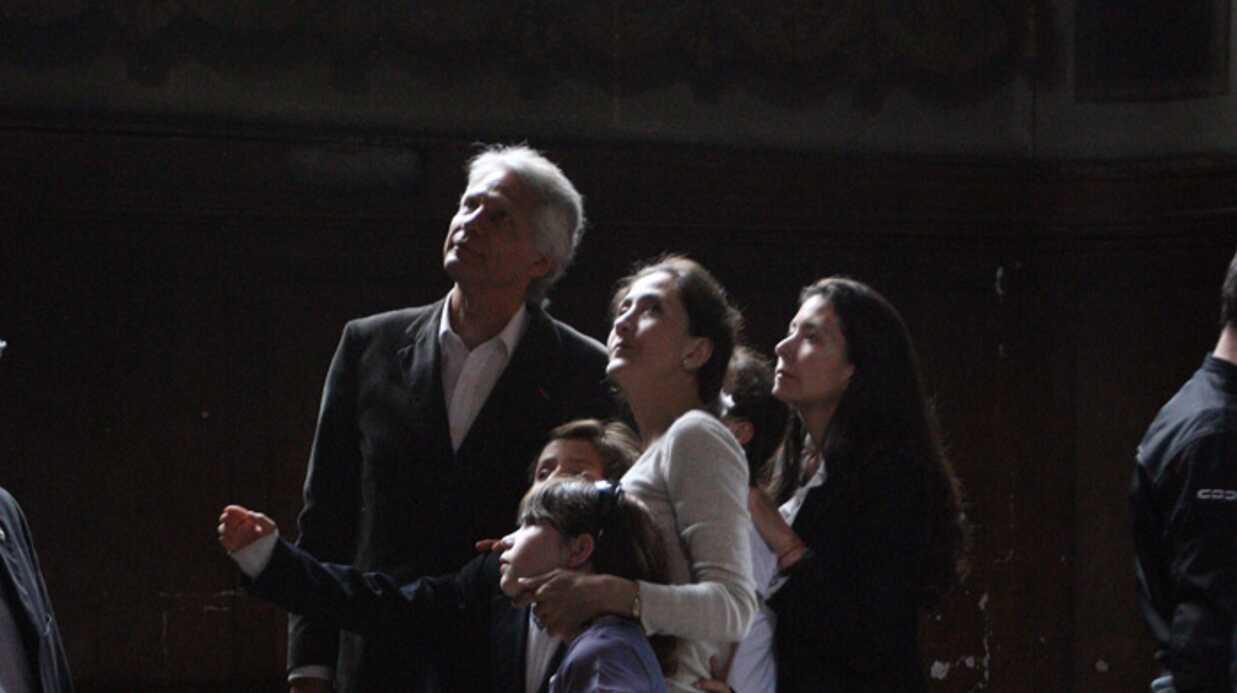Ingrid Bétancourt, ses enfants et Dominique de Villepin ont prié ensemble