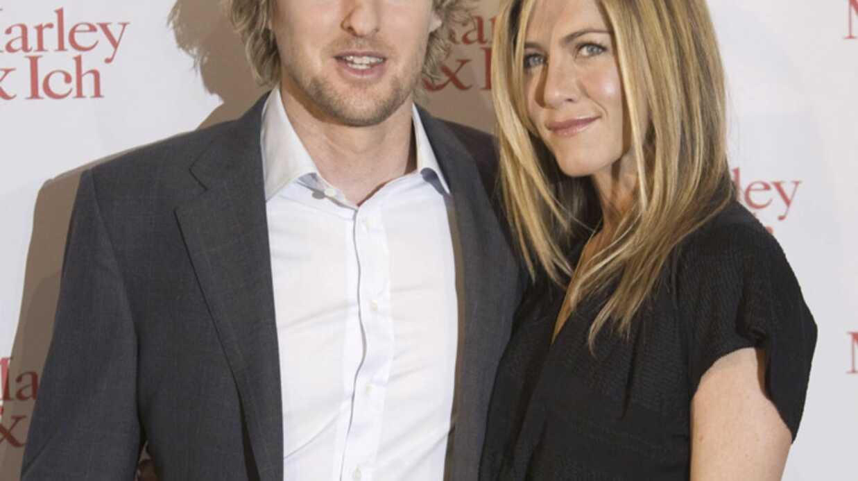 PHOTOS Jennifer Aniston et Owen Wilson en tournée en Europe