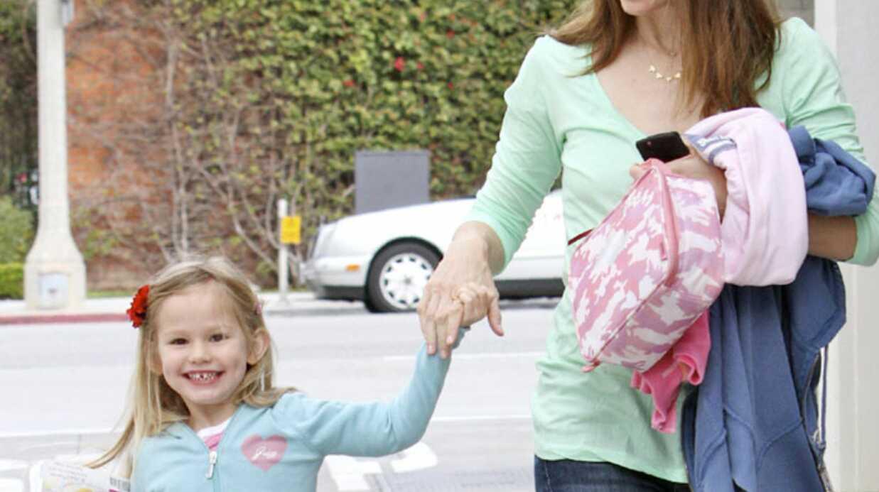 PHOTOS Jennifer Garner et Violet, girly en pastel