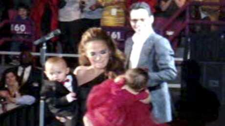 PHOTOS Jennifer Lopez, Marc Anthony et leurs jumeaux