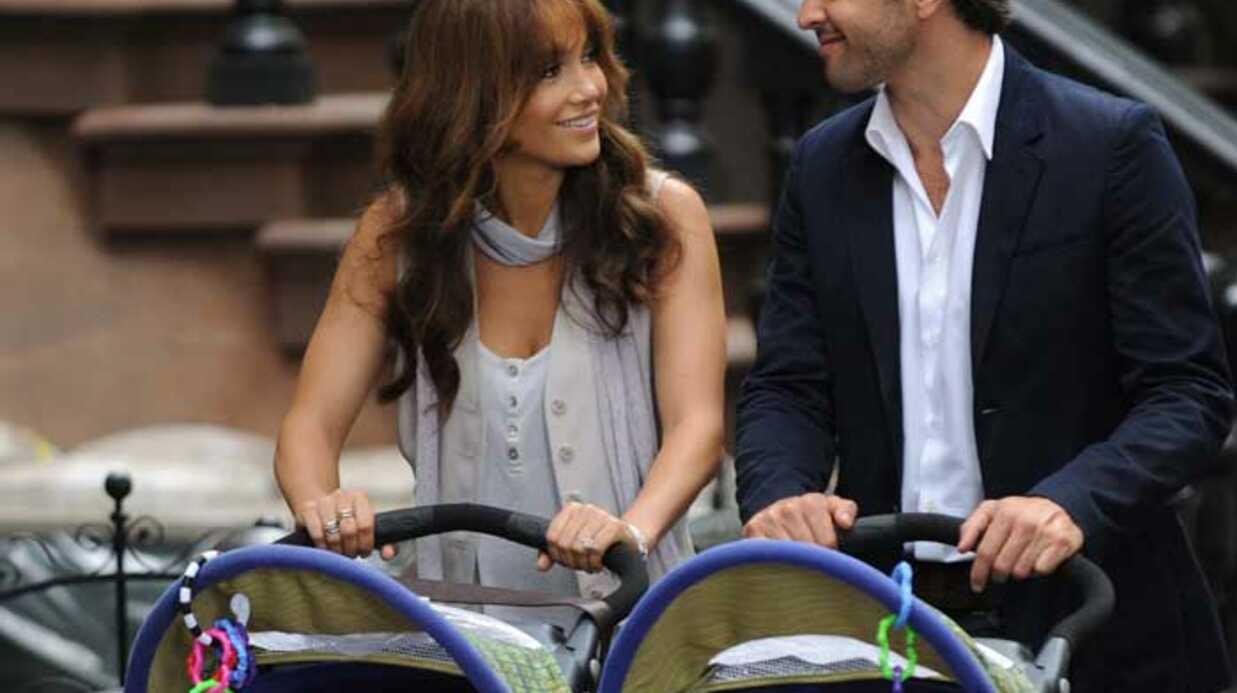 PHOTOS Marc Anthony rejoint Jennifer Lopez sur son tournage