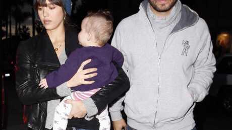 PHOTOS Jessica Alba, son mari et sa fille Honor… adorables!