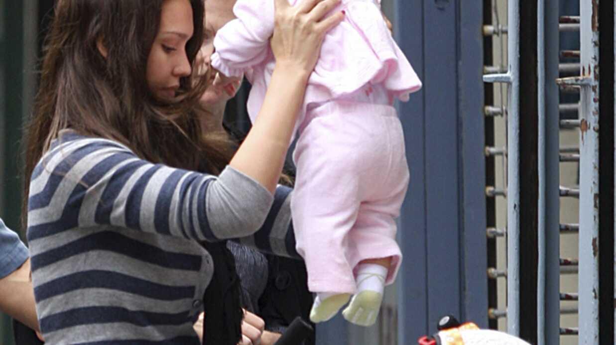 Découvrez les photos de Jessica Alba et sa fille Honor Marie