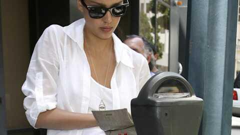 Jessica Alba: ses contraventions comptent pour des prunes