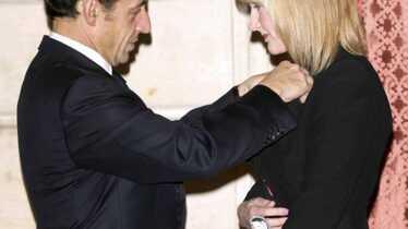 JK Rowling décorée par notre Président