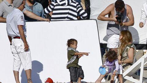 PHOTOS Jennifer Lopez et Marc Anthony s'éclatent avec leurs enfants