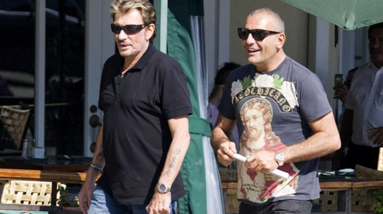 Johnny Hallyday et Christian Audigier ne se quittent plus