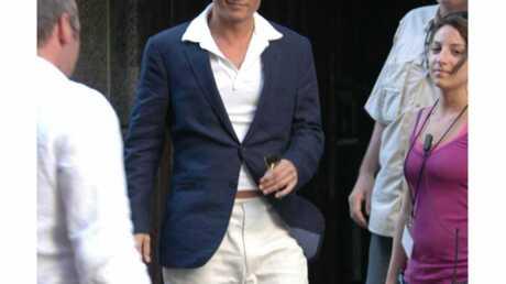PHOTOS Johnny Depp toujours aussi sexy, en tournage