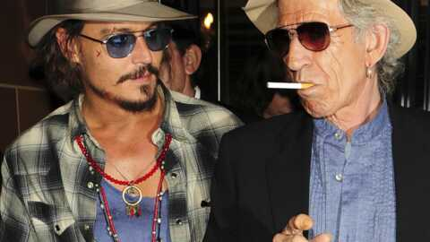 PHOTOS Johnny Depp et Keith Richards prennent une cuite