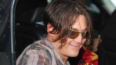 PHOTOS Johnny Depp, un peu gras mais toujours aussi sympa