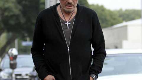 PHOTOS Johnny Hallyday à L.A pour enregistrer un album