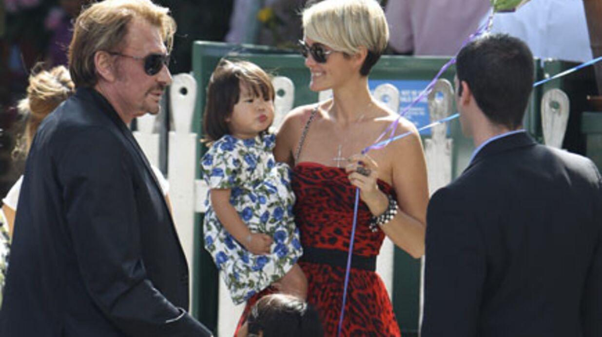 PHOTOS Johnny Hallyday: sortie en famille à Los Angeles