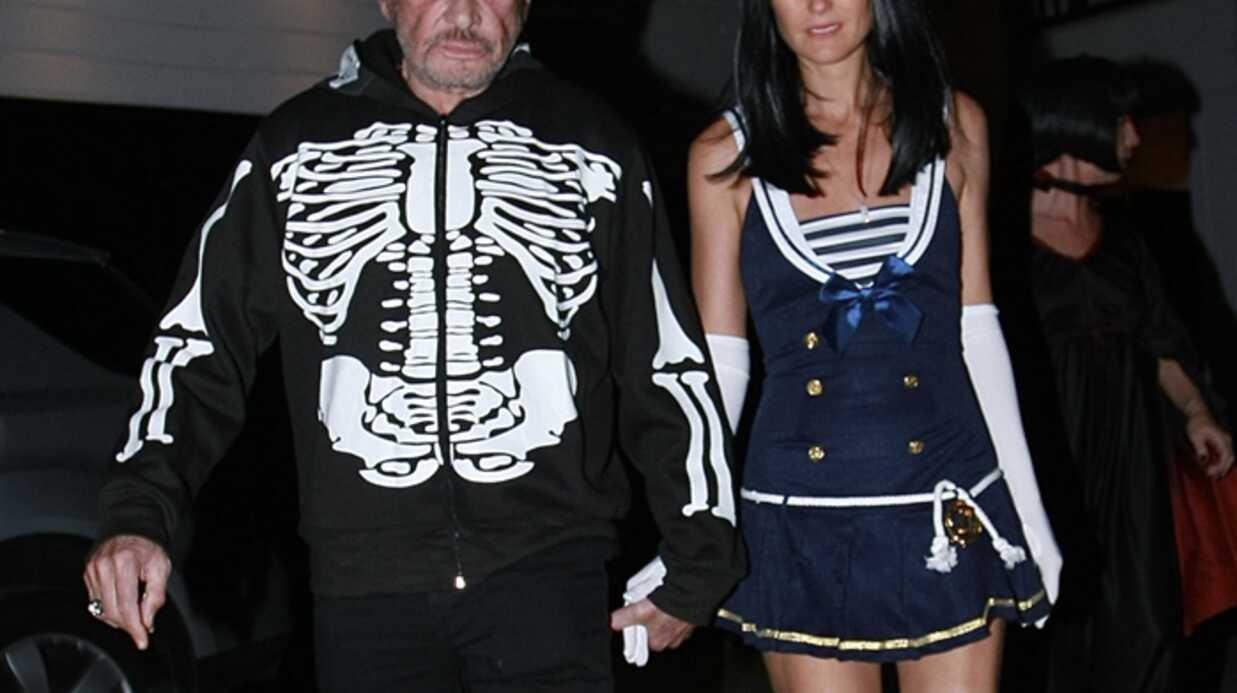 Johnny Hallyday et Laeticia fêtent Halloween chez Kate Hudson