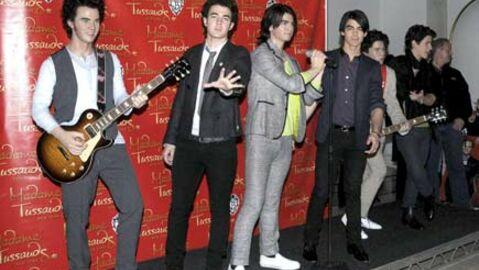PHOTOS Les Jonas Brothers au musée Tussauds