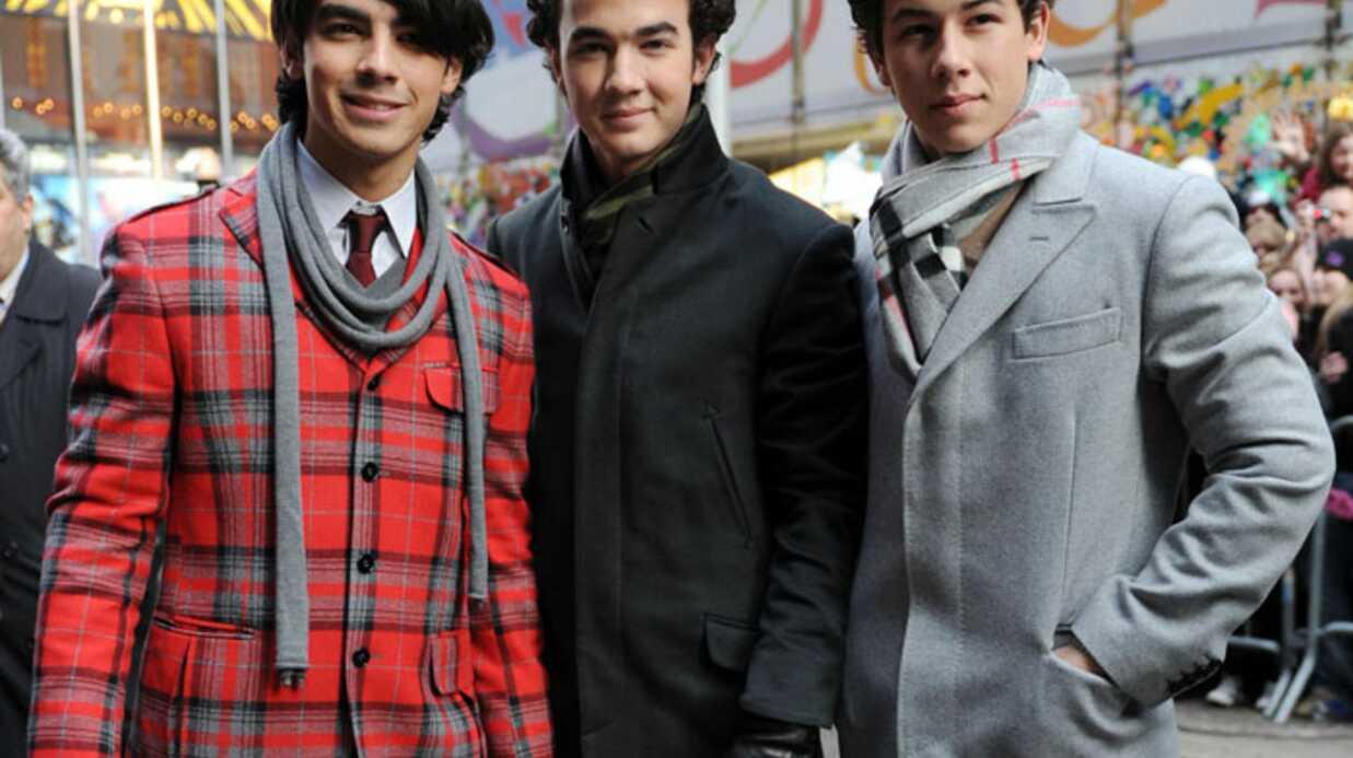 Les Jonas Brothers très sexy à Times Square
