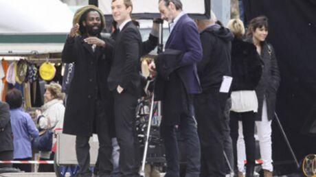 PHOTOS Jude Law tourne à Paris