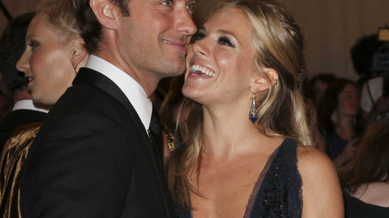 PHOTOS Jude Law et Sienna Miller officialisent leur amour