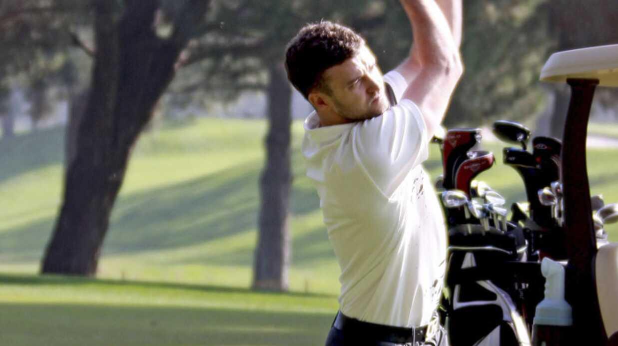 PHOTOS – Justin Timberlake kiffe le golf