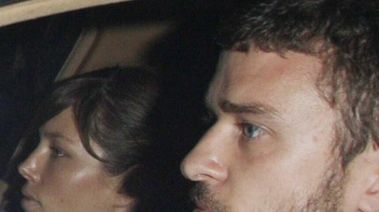 Justin Timberlake et Jessica Biel sortent du restaurant