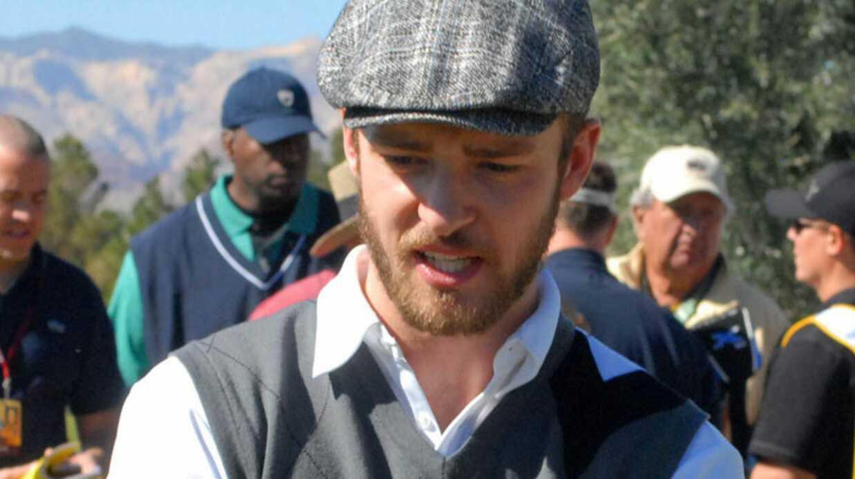 Justin Timberlake et Jessica Biel au golf