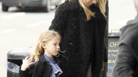 PHOTOS Kate Moss au cinéma en famille