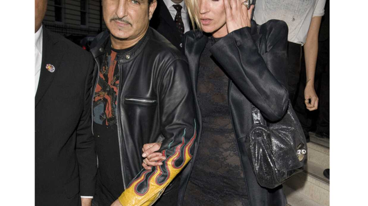 PHOTOS Kate Moss au bras de son ami James Brown