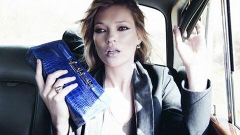 PHOTOS Kate Moss, suite de la campagne Longchamp