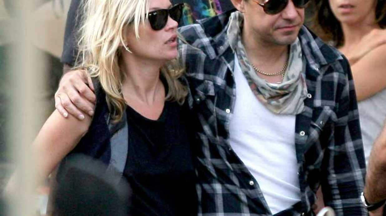 PHOTOS Kate Moss et Jamie Hince à Saint-Tropez
